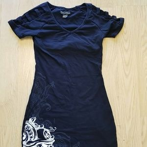 Metal Mulisha black dress